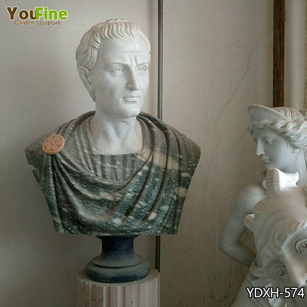 Mixed Color Home Decor Marble Man Bust for Sale YDXH-574