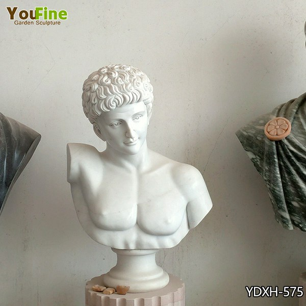 Handsome Home Decor Marble Man Bust for Sale YDXH-575