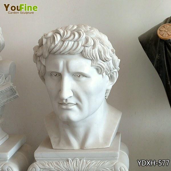 Home Decor White Marble Man Bust for Sale YDXH-577