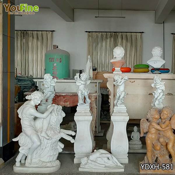 Small Sizer Marble Angel Sculpture for Sale YDXH-581